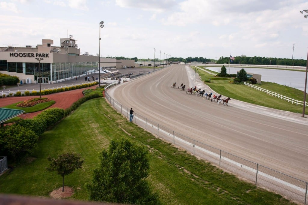 Hoosier Park had a strong Opening Night (Dave Landry)