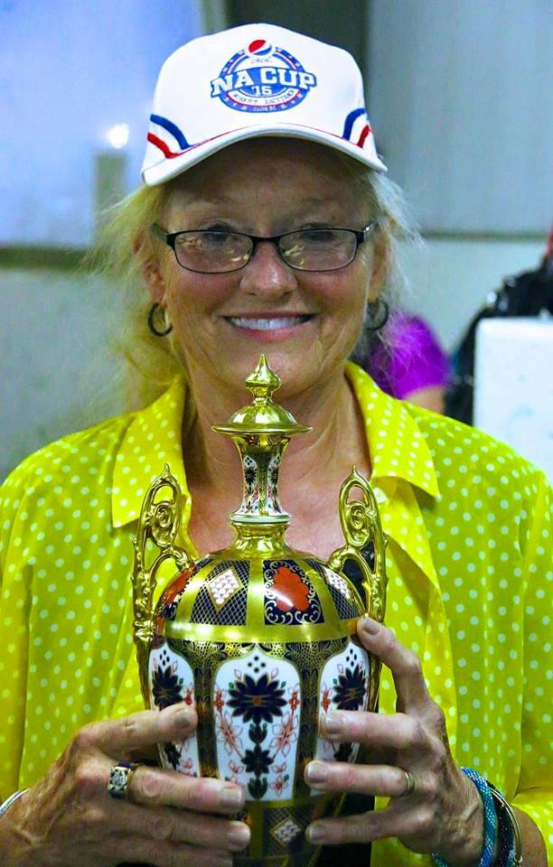Jo Ann Looney-King had one of the best nights of her life a year ago when she won the Pepsi North America Cup with her trainee Wakizashi Hanover   Courtesy Heather Vitale