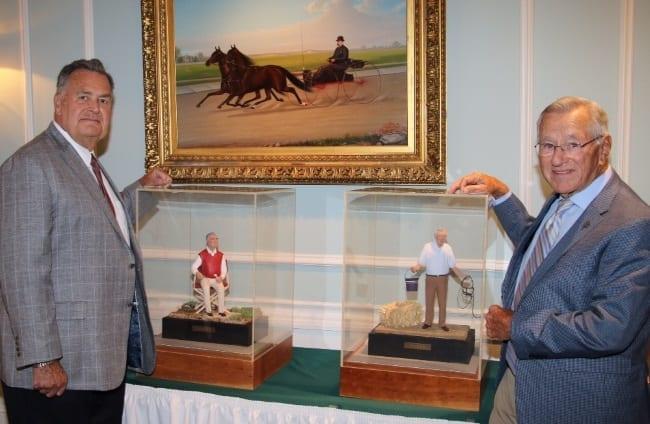 Charlie Keller III (left) and Bruce Nickells led the 2016 Hall of Fame class | Mark Hall / USTA