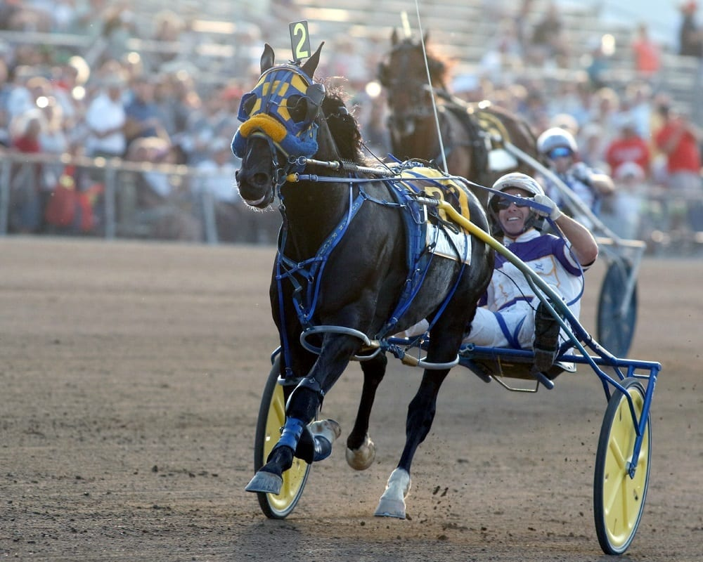 Betting Line and David Miller dominated this year's Little Brown Jug. |  Dave Landry