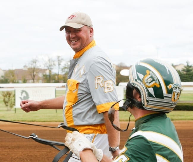 Trainer Ron Burke and his top driver Yannick Gingras have the potential for a big Breeders Crown weekend   Dave Landry