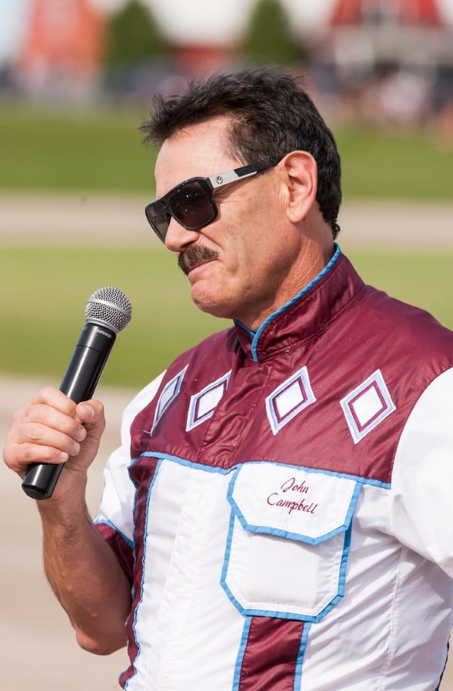 John Campbell gives thanks and an apology - Harness Racing Update