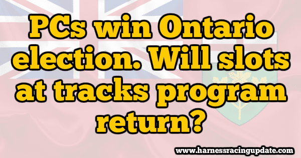 Will racetrack slots program return to Ontario under new PC government?