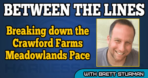 Breaking down the Crawford Farms Meadowlands Pace