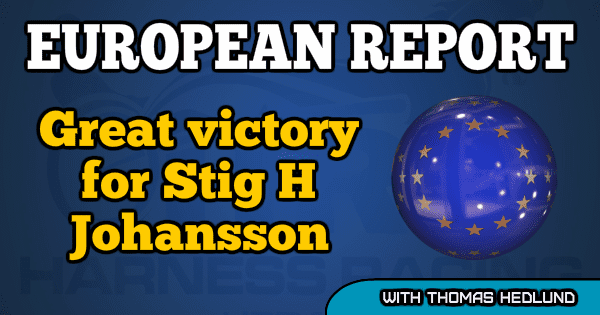 Great victory for Stig H Johansson