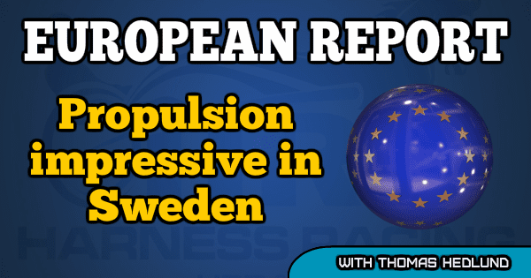 Propulsion impressive in Sweden