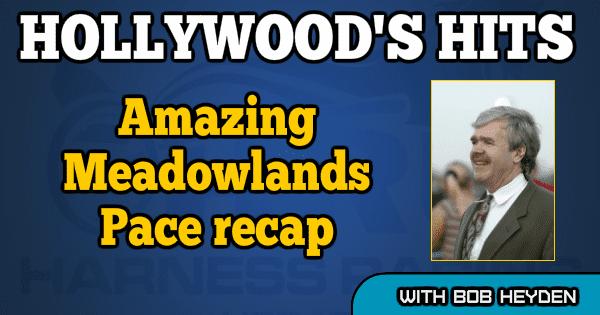 Amazing Meadowlands Pace recap