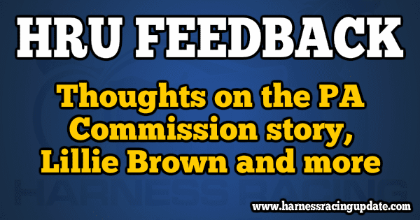 Thoughts on the PA Commission story, Lillie Brown and more