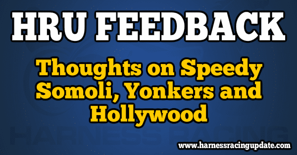 Thoughts on Speedy Somoli, Yonkers and Hollywood