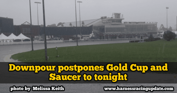 Downpour postpones Gold Cup and Saucer to tonight
