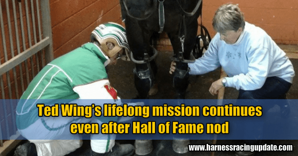 Ted Wing's lifelong mission continues even after Hall of Fame nod