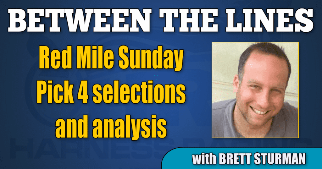 Red Mile Sunday Pick 4 selections and analysis