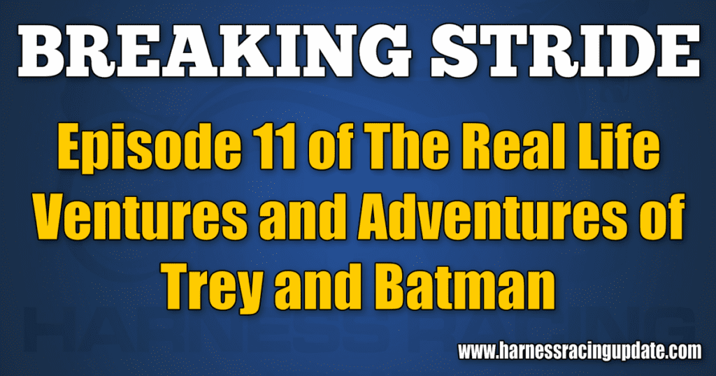 Episode 11 of The Real Life Ventures and Adventures of Trey and Batman