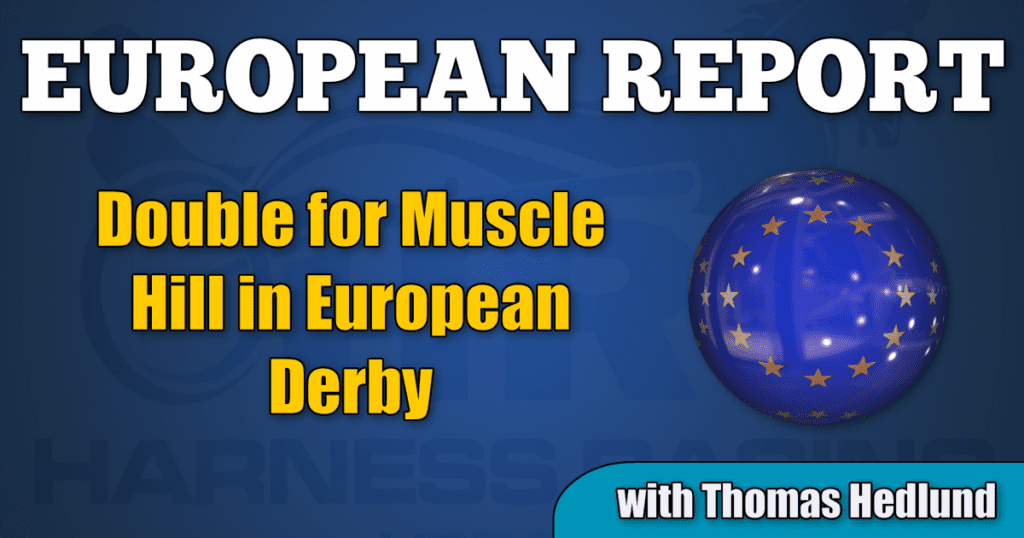 Double for Muscle Hill in European Derby