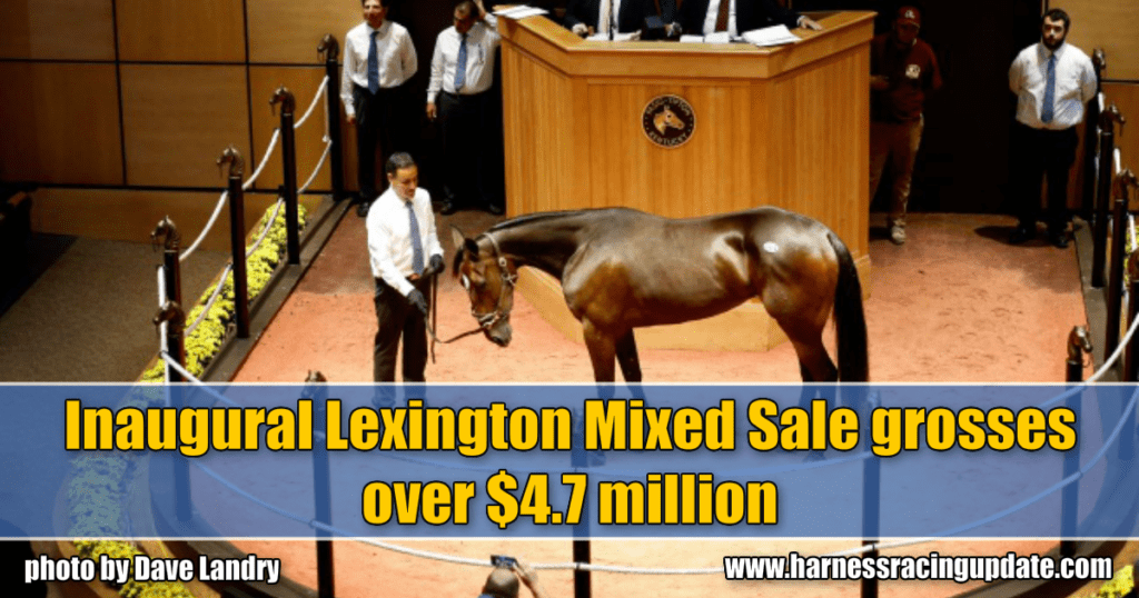 Inaugural Lexington Mixed Sale grosses over $4.7 million