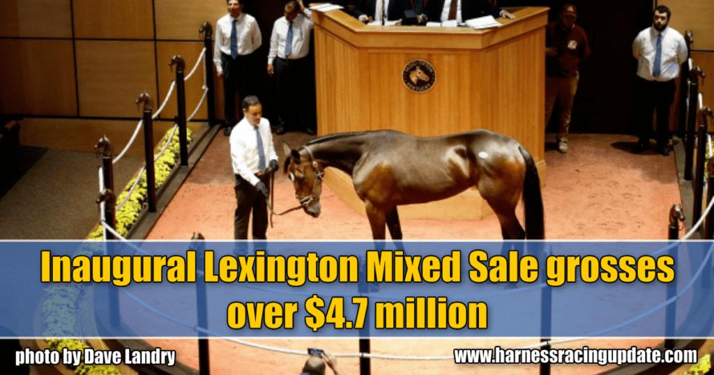 Inaugural Lexington Mixed Sale grosses over $4.7 million