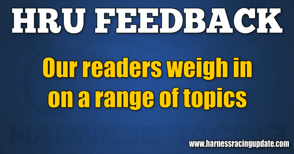 Our readers weigh in on a range of topics