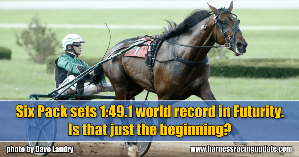 Six Pack sets 1:49.1 world record in Futurity. Is that just the beginning?