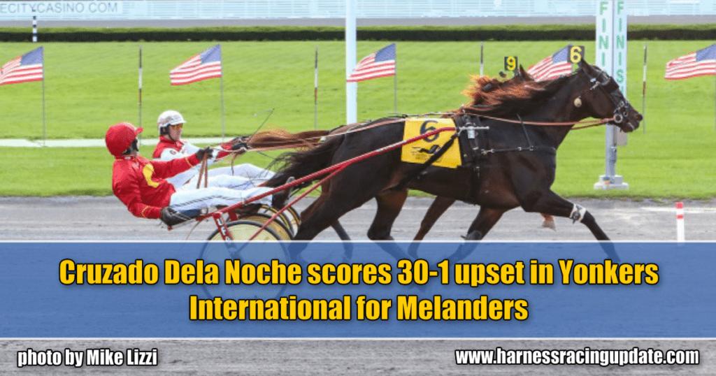 Cruzado Dela Noche scores 30-1 upset in Yonkers International for Melanders