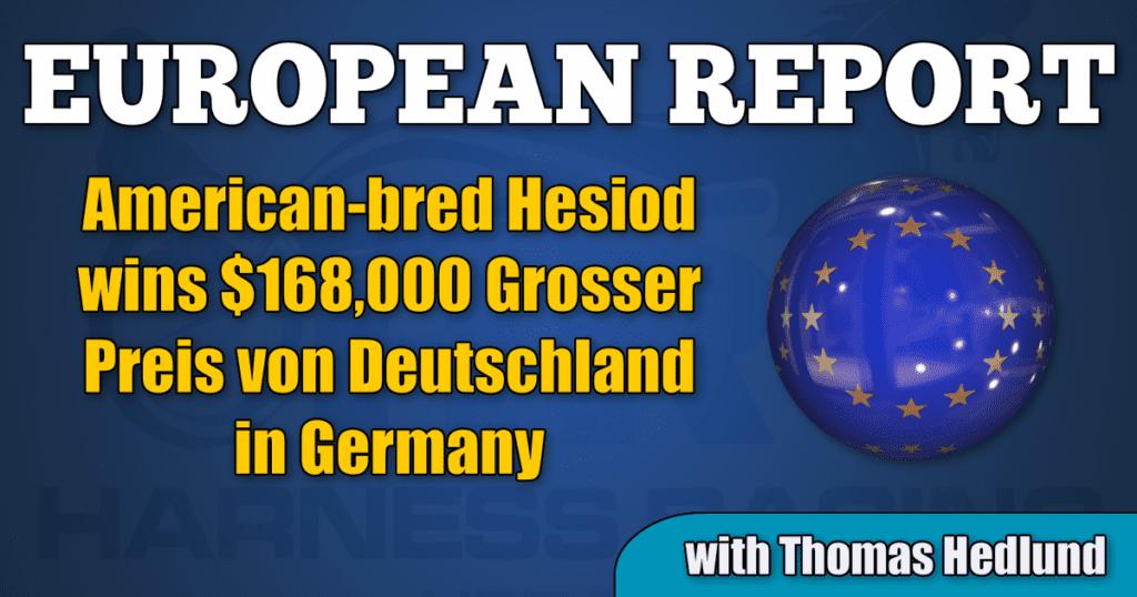 American-bred Hesiod wins $168,000 Grosser Preis von Deutschland in Germany