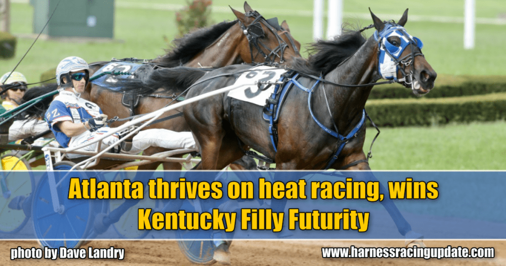 Atlanta thrives on heat racing, wins Kentucky Filly Futurity