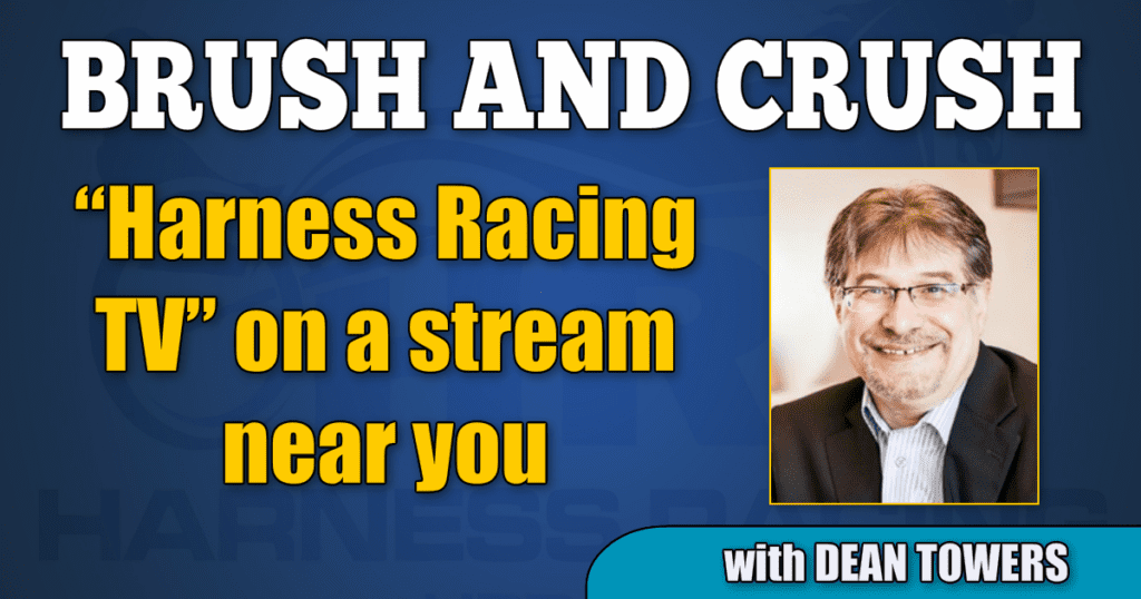 """Harness Racing TV"" on a stream near you"