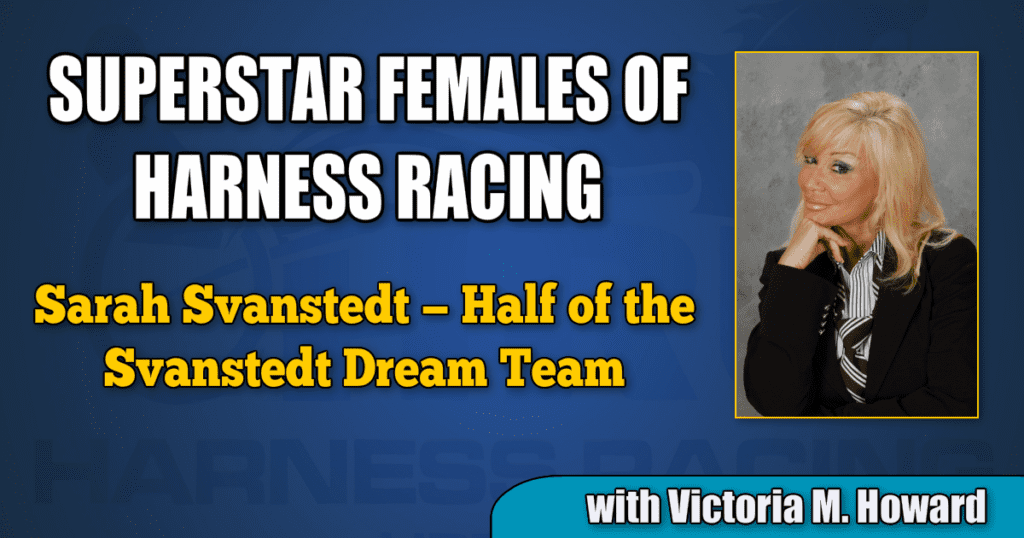 Sarah Svanstedt — Half of the Svanstedt Dream Team