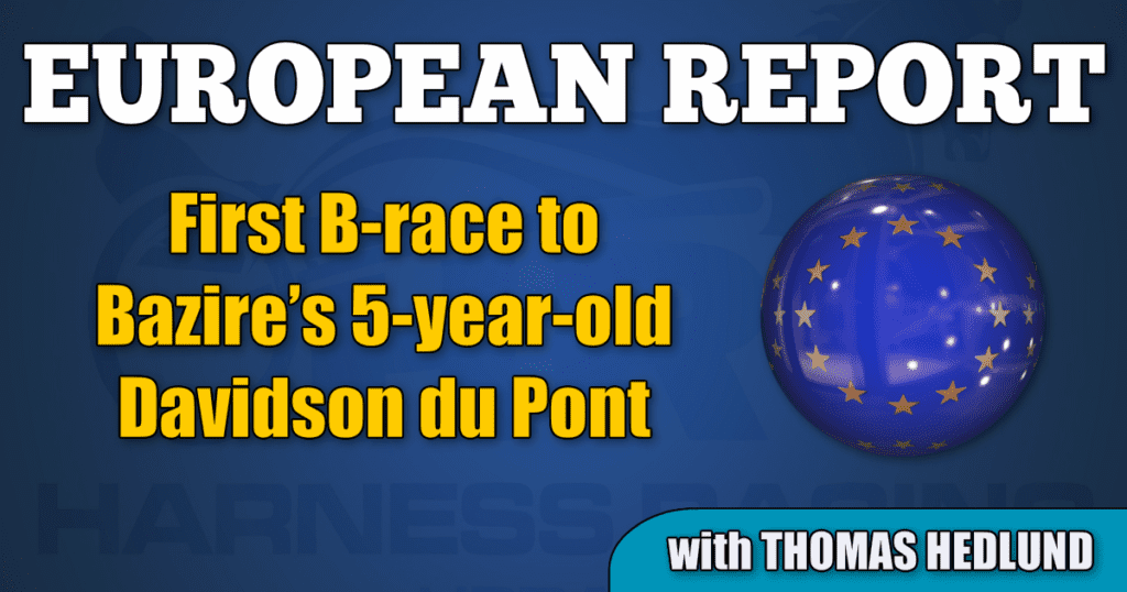 First B-race to Bazire's 5-year-old Davidson du Pont