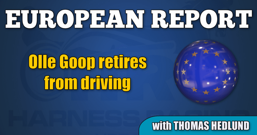 Olle Goop retires from driving