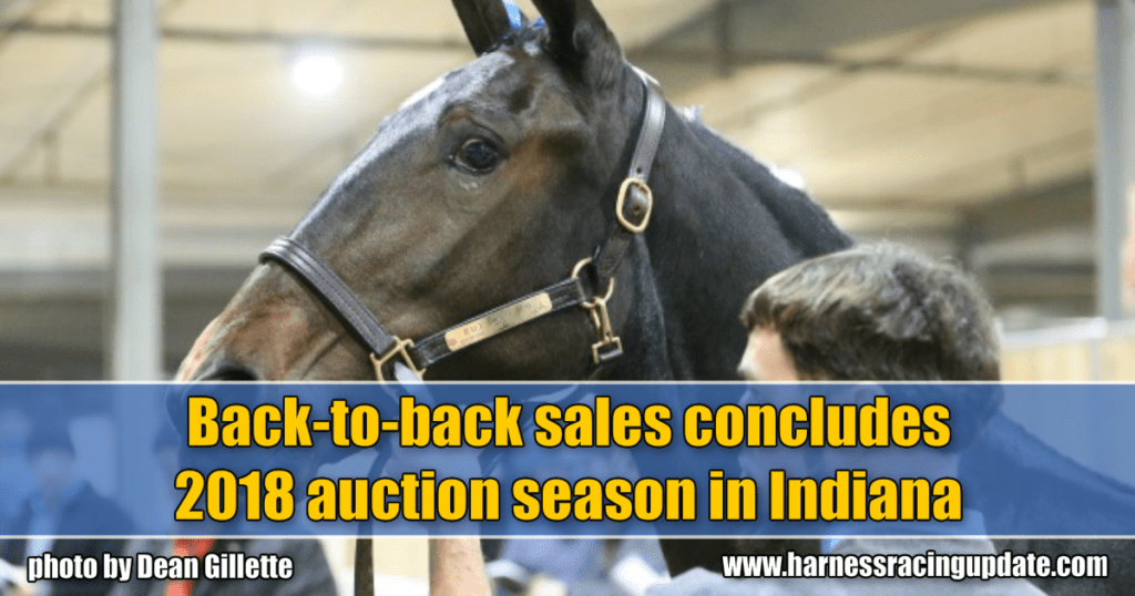 Back-to-back sales concludes 2018 auction season in Indiana