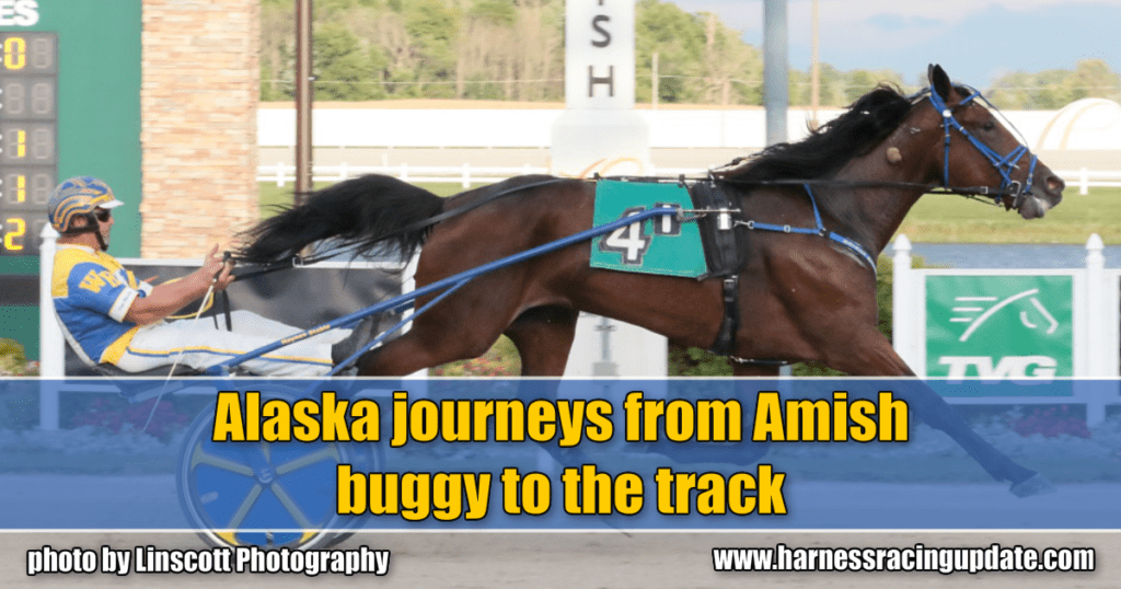 Alaska journeys from Amish buggy to the track