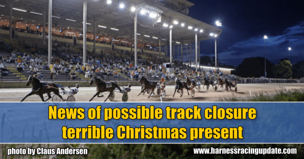 News of possible track closure terrible Christmas present