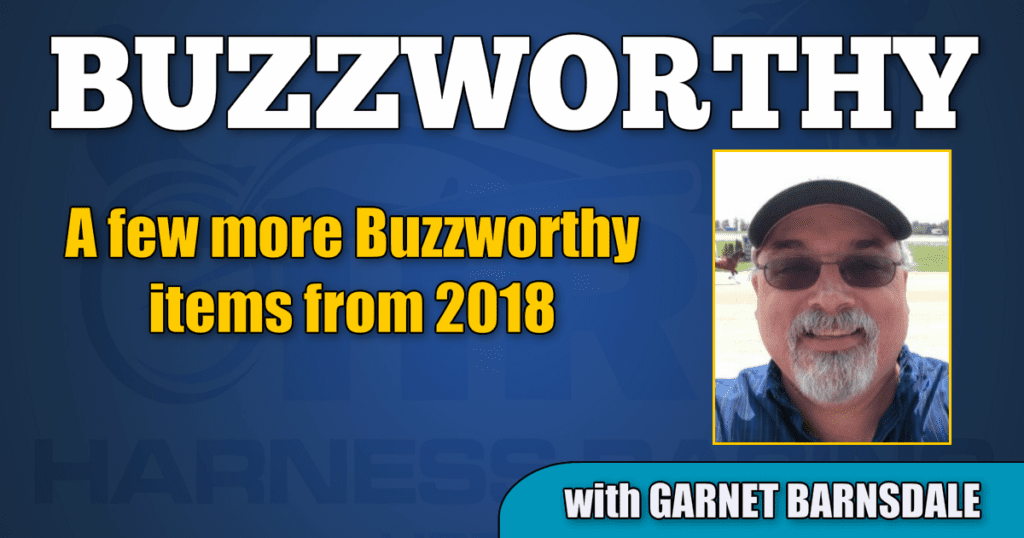 A few more Buzzworthy items from 2018