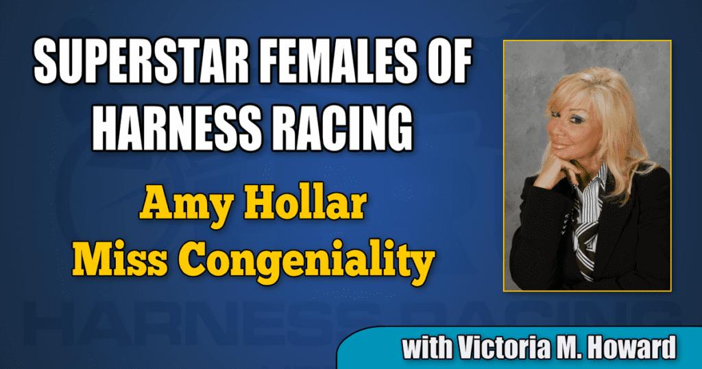 Amy Hollar — Miss Congeniality