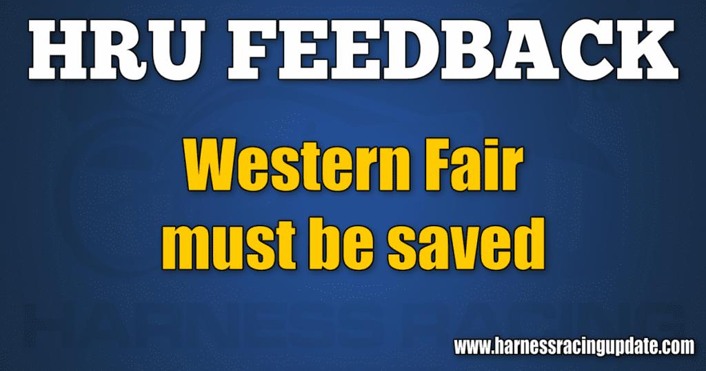 Western Fair must be saved