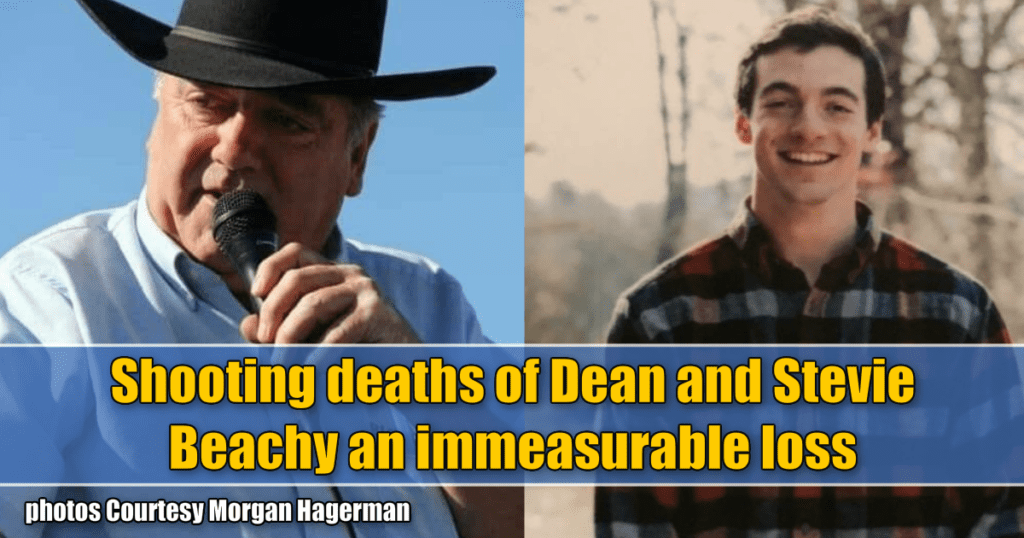 Shooting deaths of Dean and Stevie Beachy an immeasurable loss