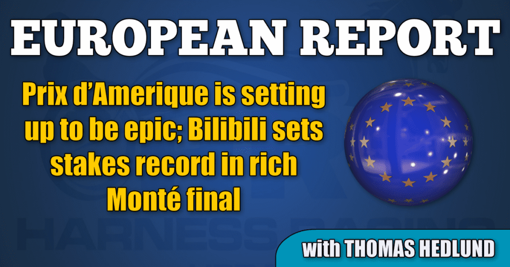 Prix d'Amerique is setting up to be epic; Bilibili sets stakes record in rich Monté final