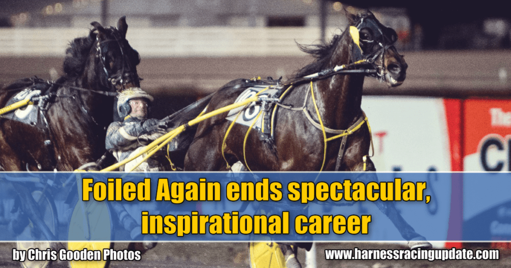 Foiled Again ends spectacular, inspirational career