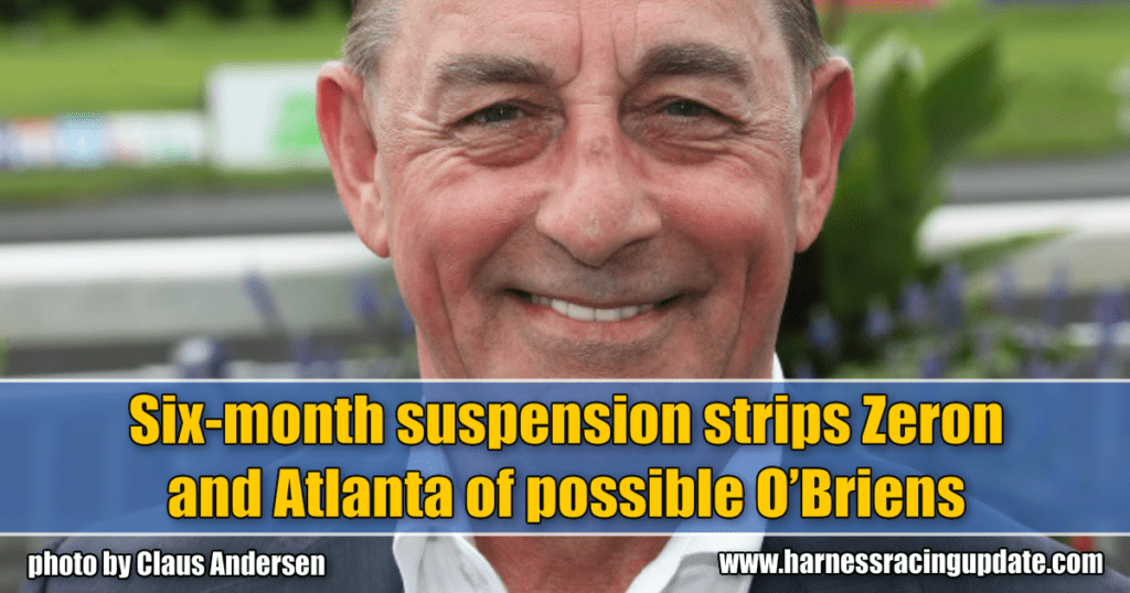 Six-month suspension strips Zeron and Atlanta of possible O'Briens