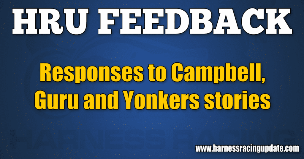 Responses to Campbell, Guru and Yonkers stories