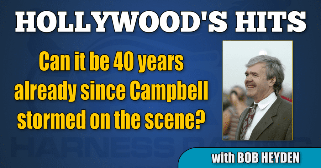 Can it be 40 years already since Campbell stormed on the scene?