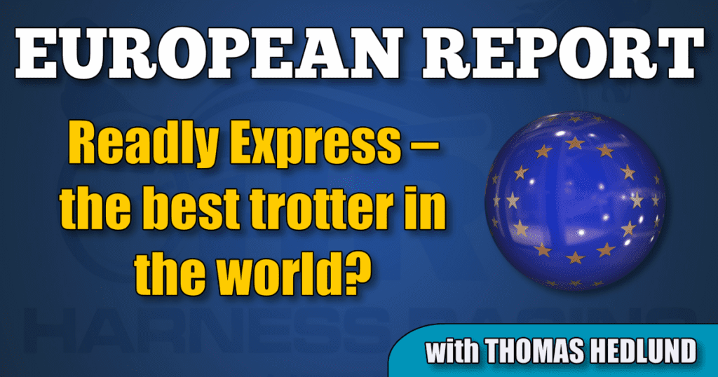 Readly Express – the best trotter in the world?