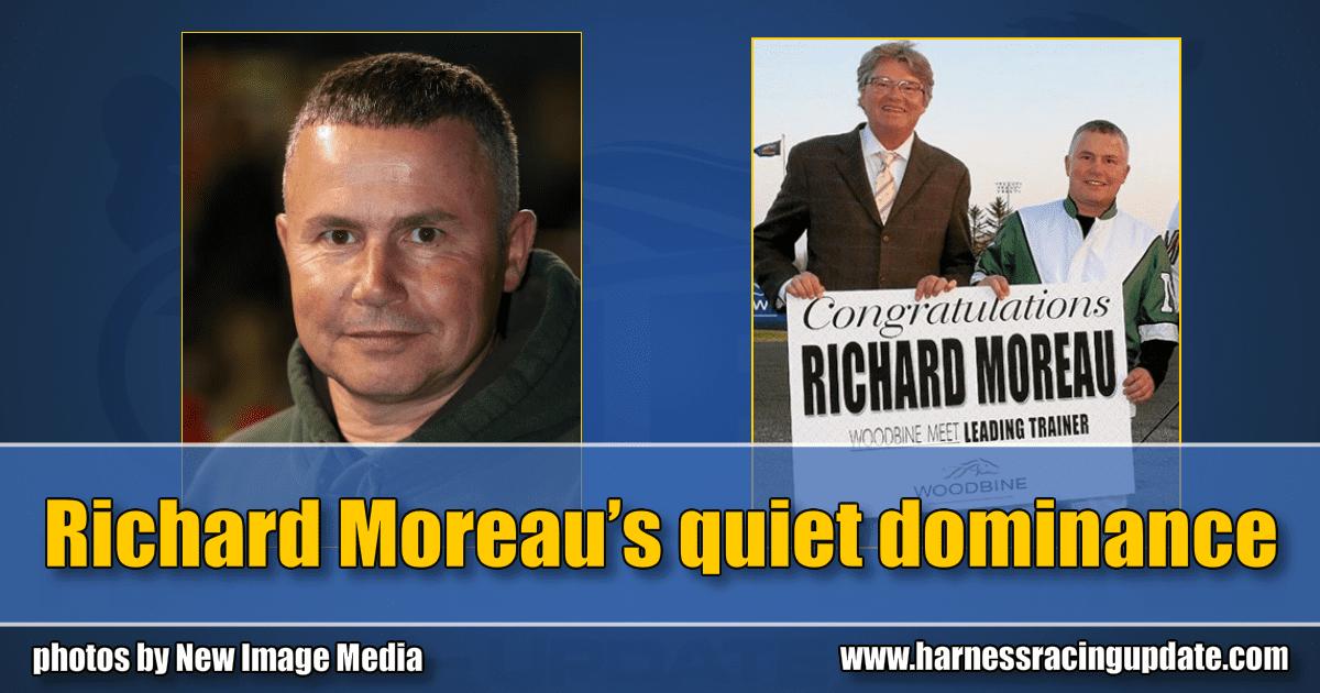 Richard Moreau's quiet dominance