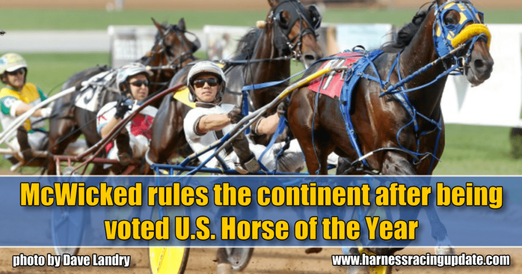 McWicked rules the continent after being voted U.S. Horse of the Year