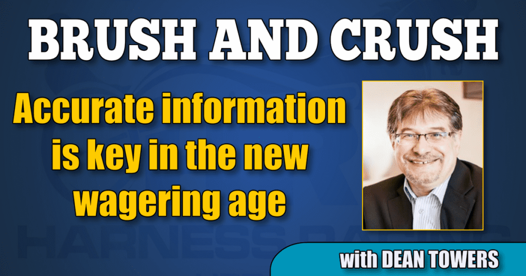 Accurate information is key in the new wagering age