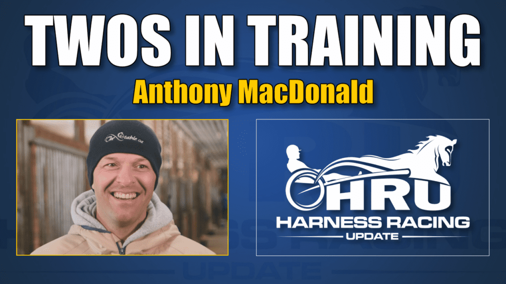 Fresh off a trip to Australia, Anthony MacDonald is in the HRU Twos in Training video spotlight