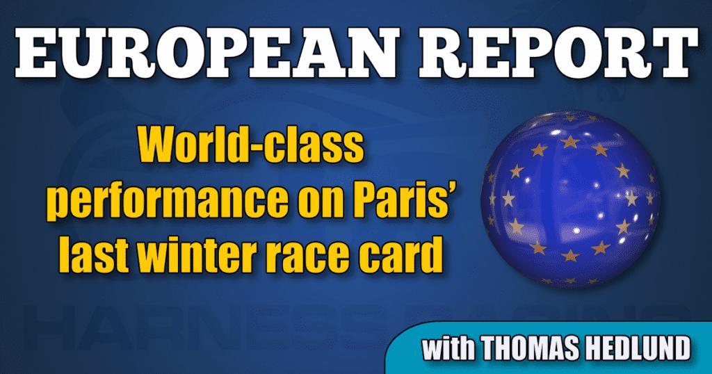 World-class performance on Paris' last winter race card