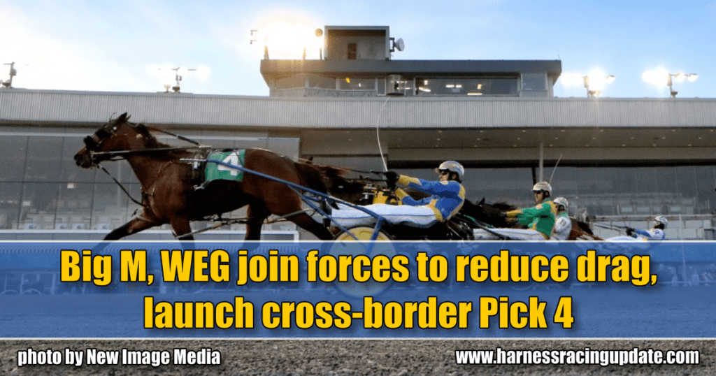 Big M, WEG join forces to reduce drag, launch cross-border Pick 4