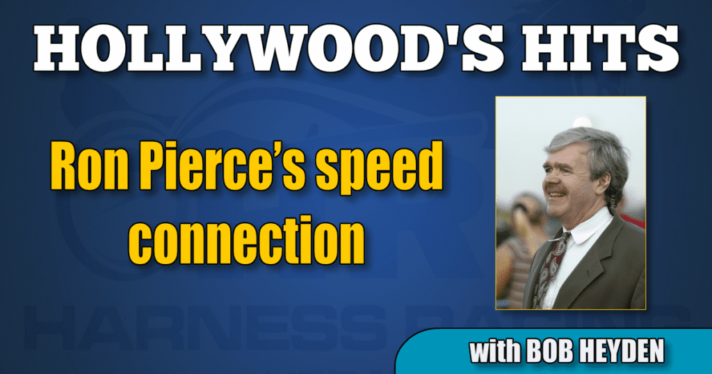 Ron Pierce's speed connection