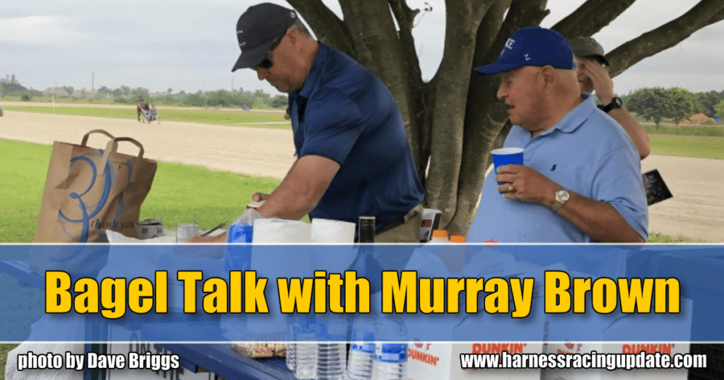 Bagel Talk with Murray Brown